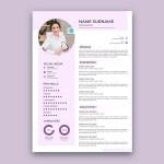Purple Resume