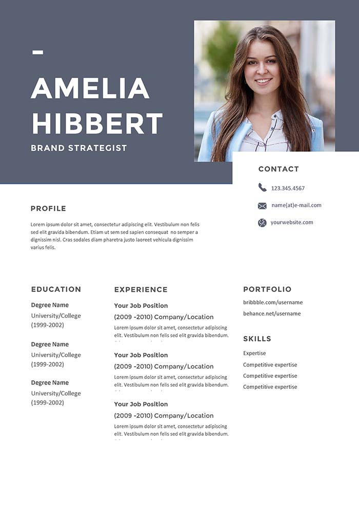 Brand Strategist Resume