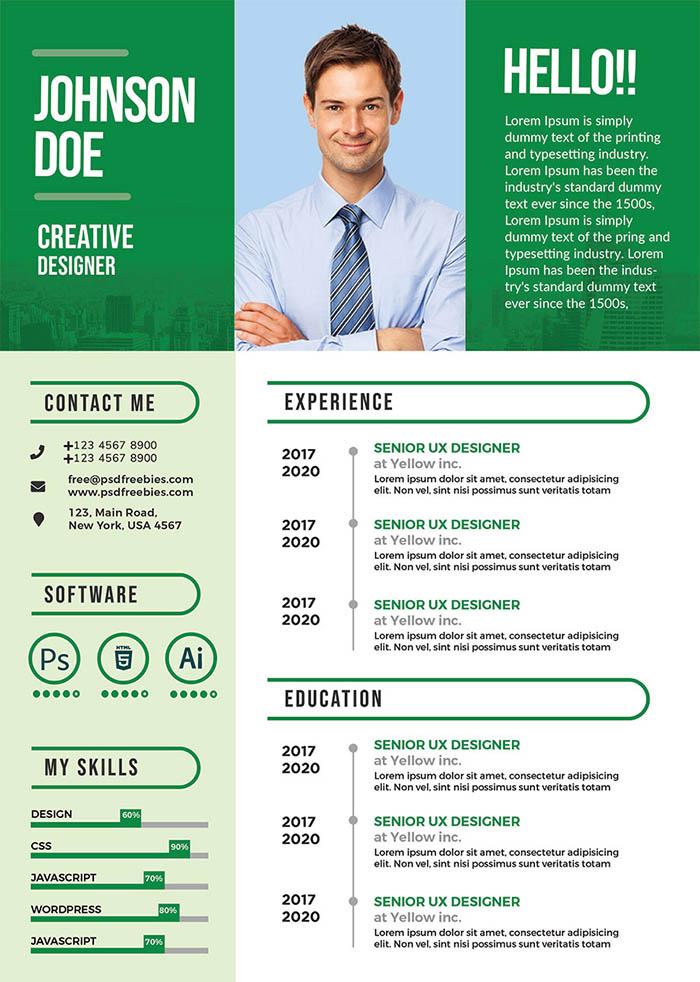 Creative Worker Resume