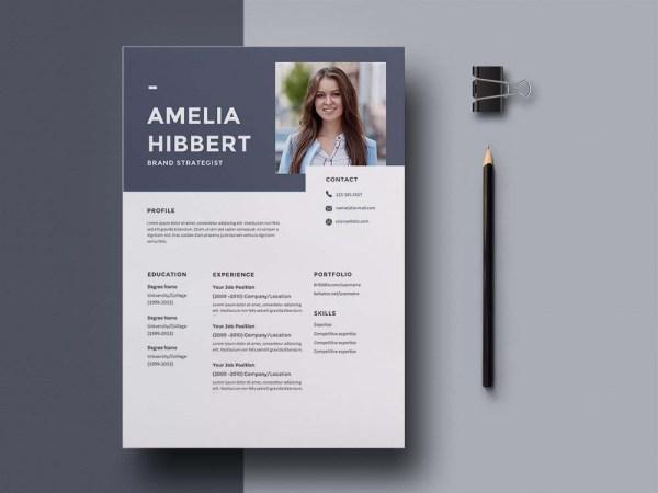 Free Brand Strategist Resume Template
