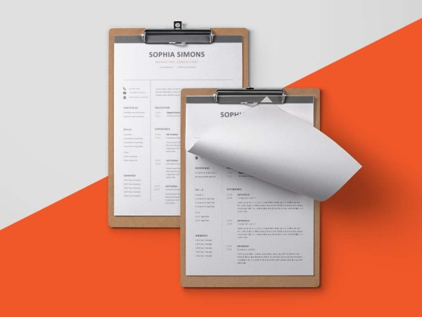 Free Marketing Consultant Resume Template