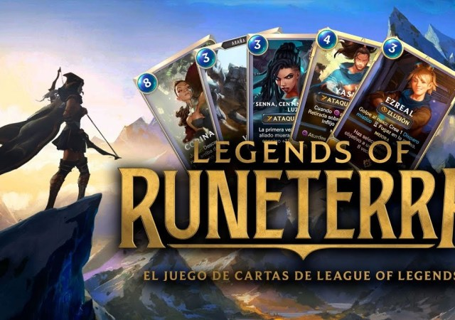 League of Legends strategy card game: Legends of Runeterra. Pre-register now.