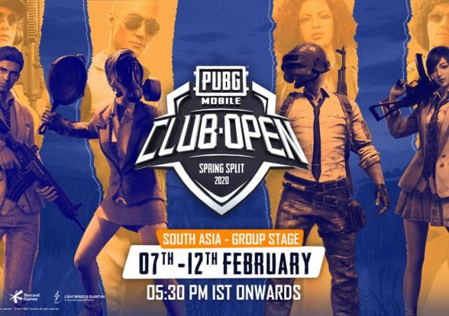 PUBG MOBILE Club Open 2020 – Group Stage Kicks Off