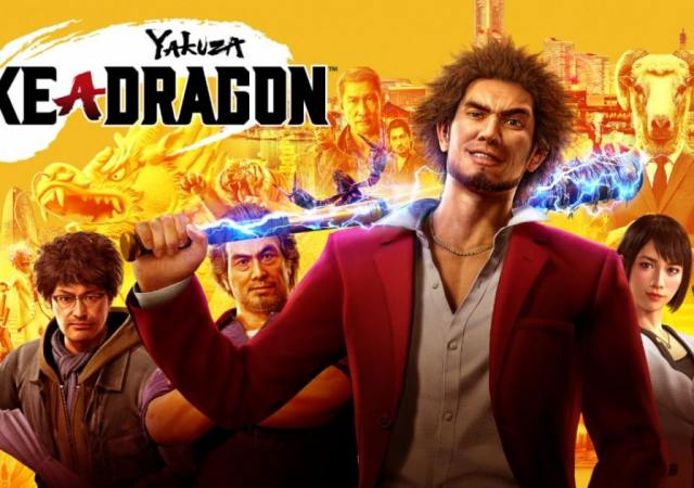 Sega Yakuza Like a Dragon