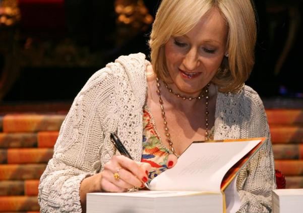 rowling signing