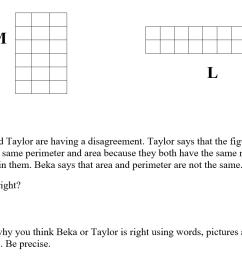 Perimeter Missing Side Worksheet   Printable Worksheets and Activities for  Teachers [ 811 x 1049 Pixel ]