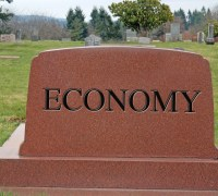 If the stock market crashes the economic recovery is over