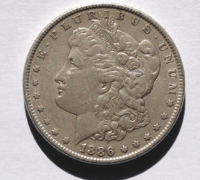 Morgan Silver Dollar 1886
