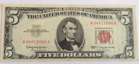 United States Notes are issued by the United States Treasury. The last series of US Notes were issued pursuant to an executive order by President Kennedy in 1963.