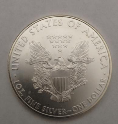 american silver eagle reverse