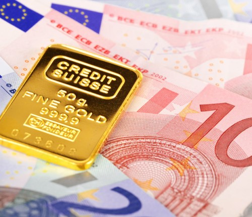gold bar credit suisse 50 grams canstockphoto12848669