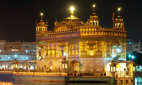 sihk golden temple in india