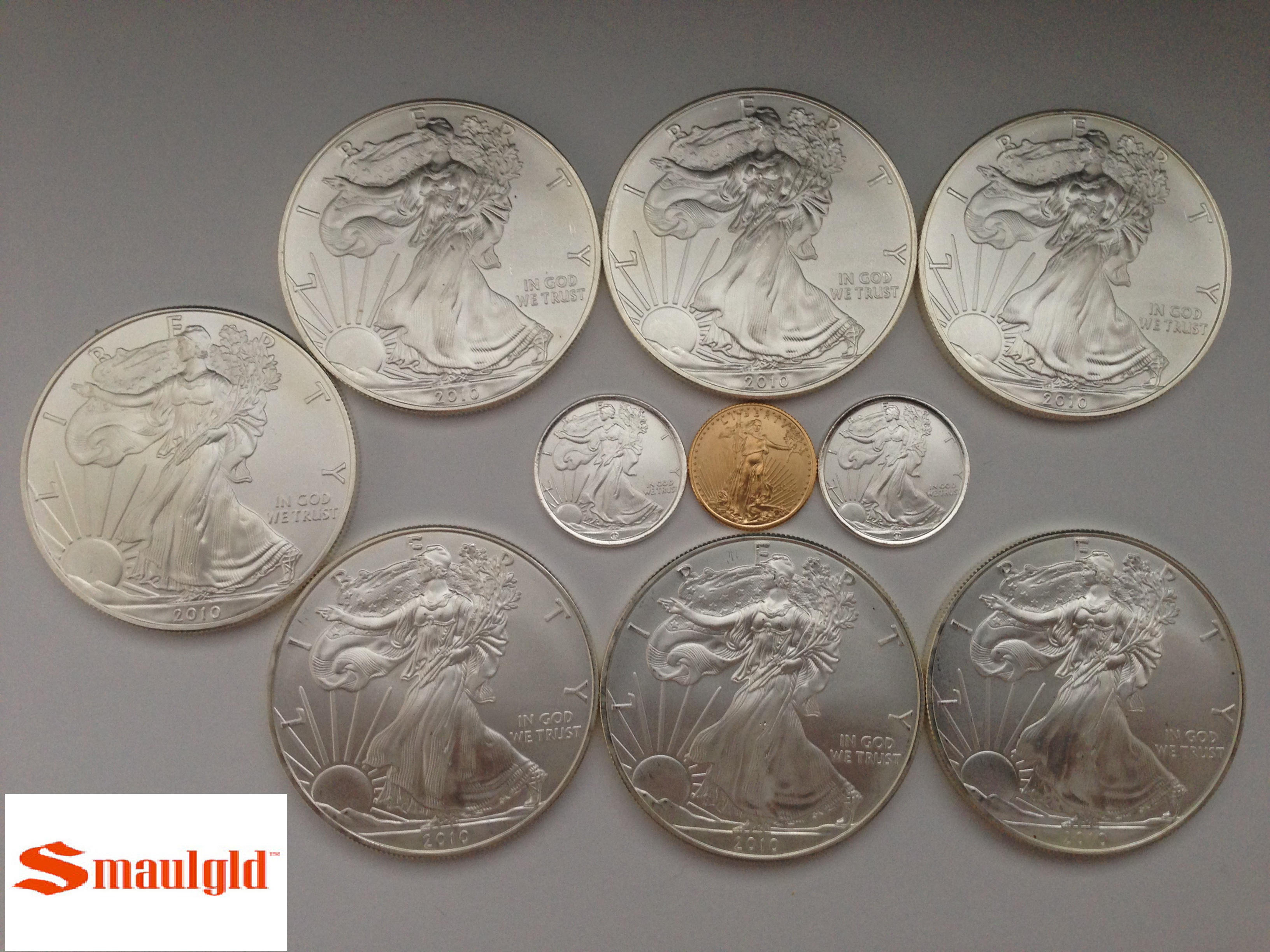 One Tenth Ounce American Gold Eagle Coin Sales Surge