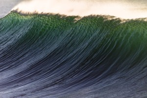 picture of a wave swell