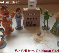 Muppets with Petrock for goldman sach