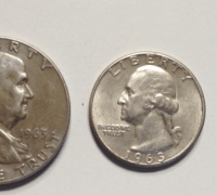 Silver coins in circulation during the Kennedy Administration