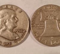 Franklin half dollars for sale