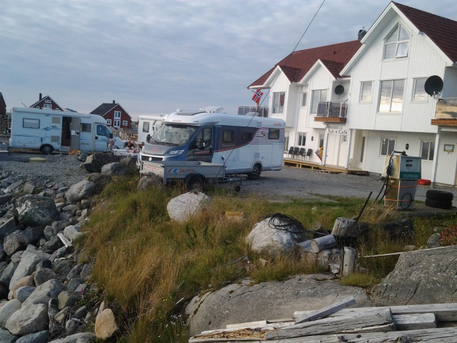 Caravan parkering