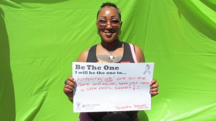 "Accepting ""we"" are all the same and equal, some just need a little extra support - Taneesha, Redwood City"