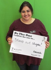 Stamp Out Stigam! - Amanda, Redwood City