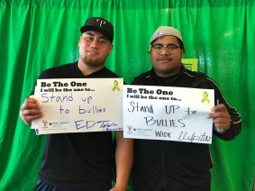 Stand up to the bullies - Ed, Shoreview and Wide, Milpitas