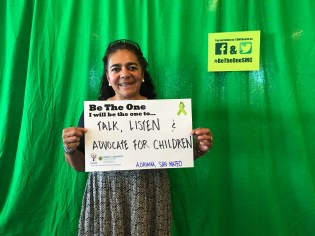 Talk, listen and advocate for children - Adriana, San Mateo