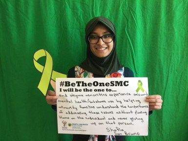 End stigma minorities experience around mental health/substance use by helping imority families understand the importance of addressing these issues without placing blame on the individual and never giving up on that person - Shafia, San Bruno
