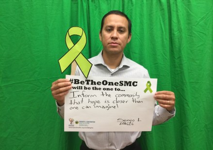 Inform the community that hope is closer than one can imagine! – Sergio L., East Palo Alto Community Counseling Center