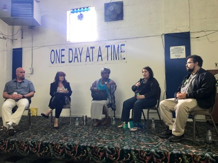 Lived Experience Panelists (left to right): Brian, Laura, Candice, Kathy, and Amaal