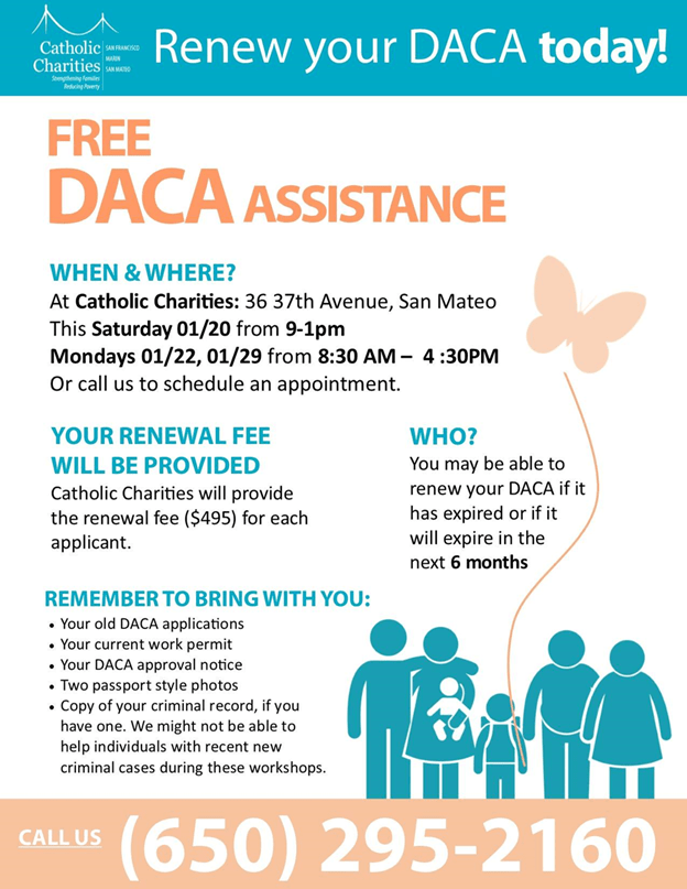 DACA Assistance English