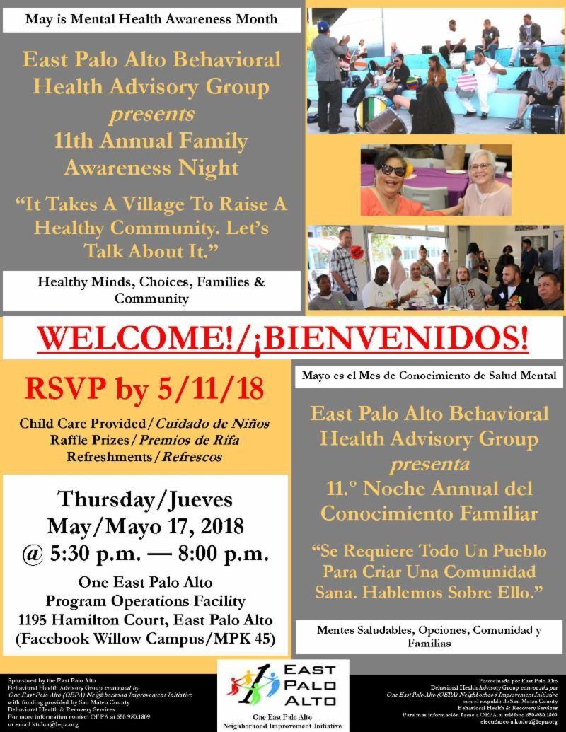 EPA Family Awareness Night Spanish