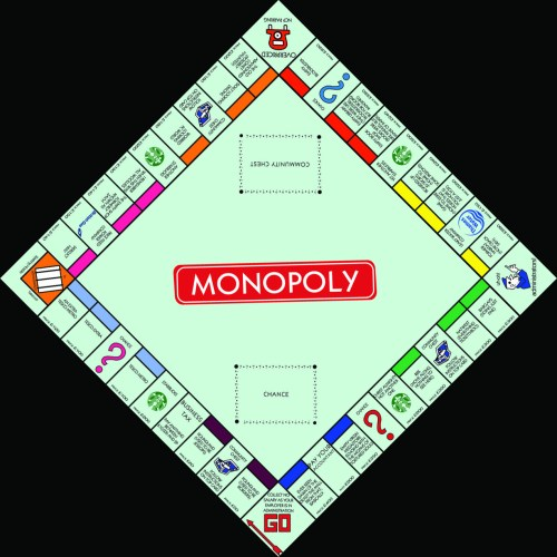 small resolution of modern monopoly board