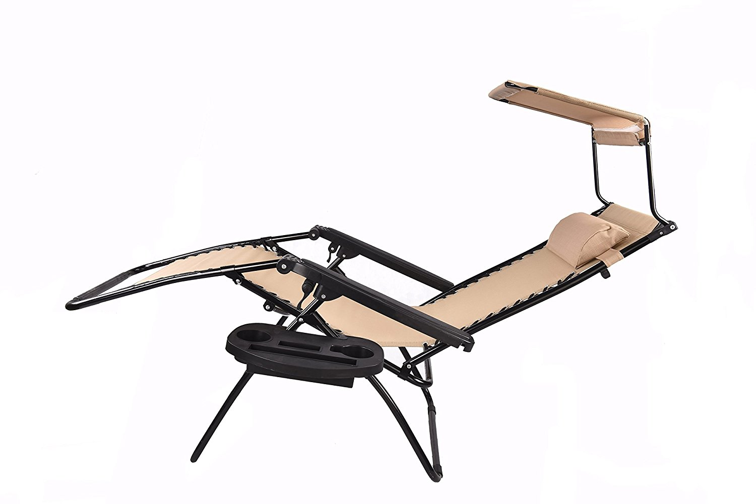 cup holder tray for zero gravity chair dinette chairs with wheels canopy sunshade