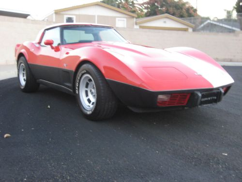 small resolution of  79 vette l 82 4 spd black leather interior runs strong and dependable look