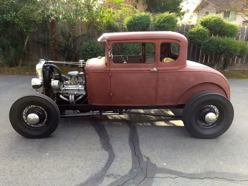 medium resolution of 1931 ford model a coupe hot rod v8 california car 1928 1929 19301930 ford model a