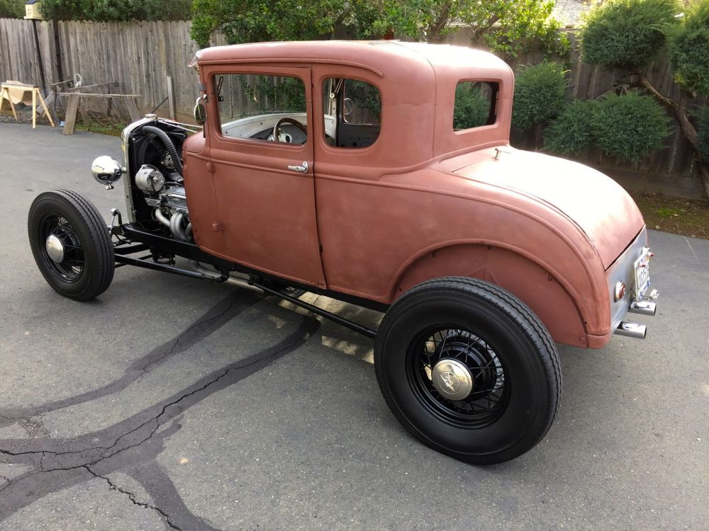 medium resolution of 1931 ford model a coupe hot rod v8 california car 1928 1929 1930 1929 model a