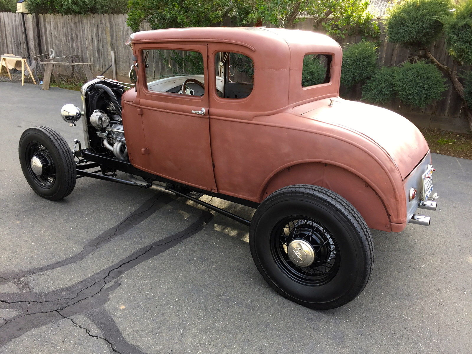hight resolution of 1931 ford model a coupe hot rod v8 california car 1928 1929 1930 1929 model a