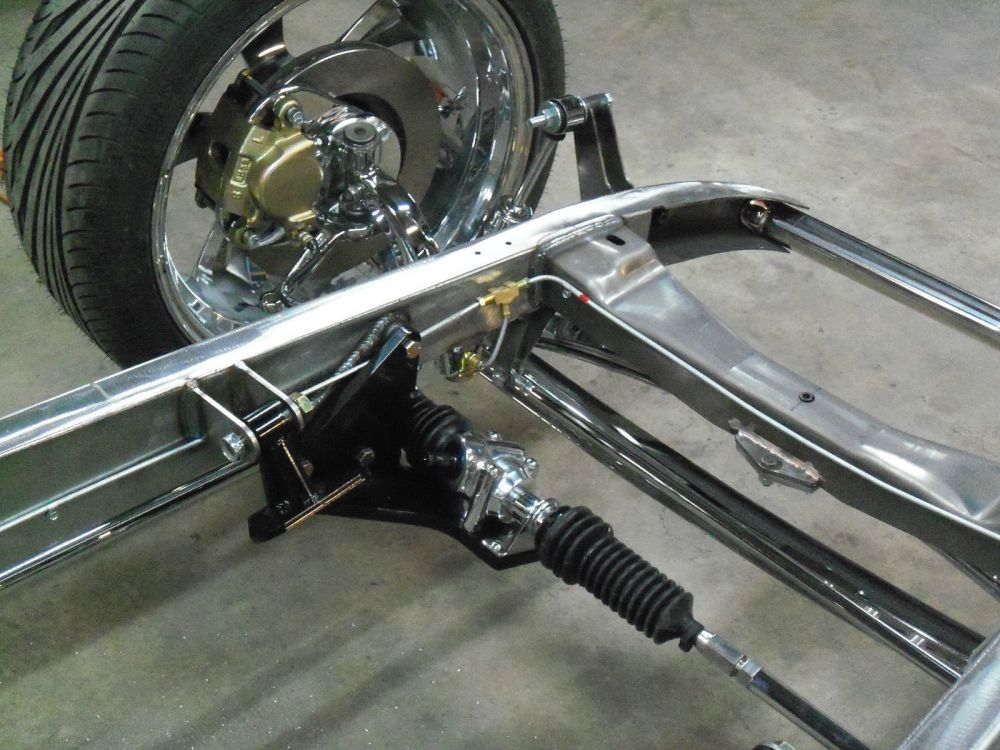medium resolution of 1932 ford chassis frame street rod hot rod