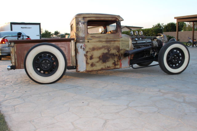 1934 Ford Truck Rat Rod Hot Rod With Bb 383 Mopar Tri Power