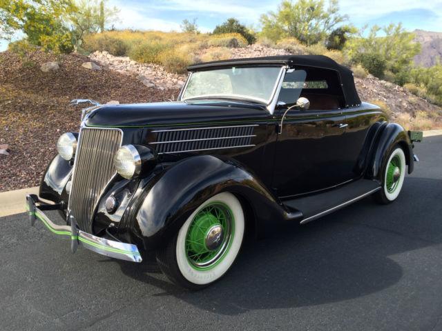 1936 Ford roadster, flathead, dropped axle, 4 barrel, '39 ...