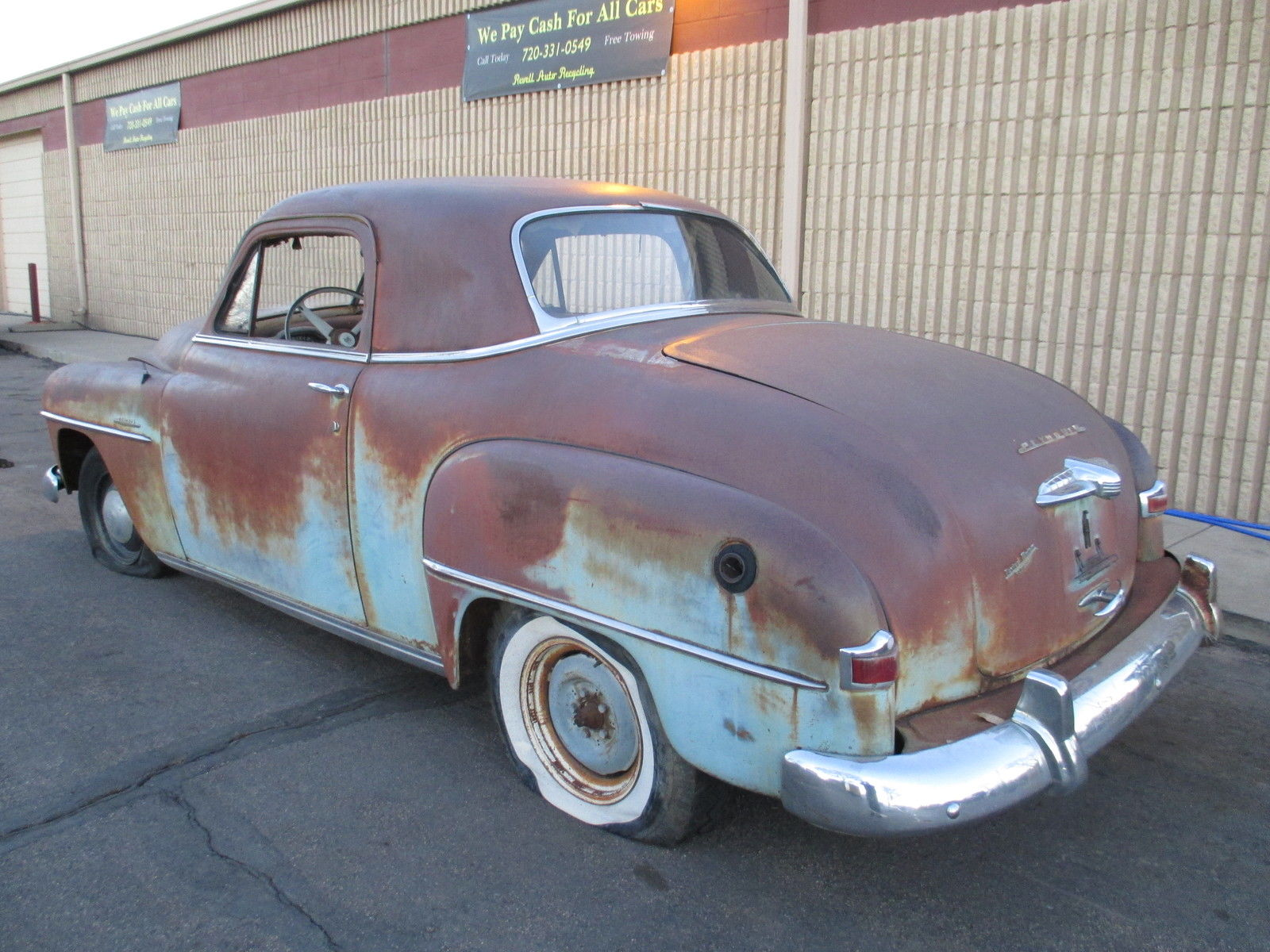 hight resolution of 1951 plymouth concord 2dr business coupe 3 window dodge rat hot rod gasser chop