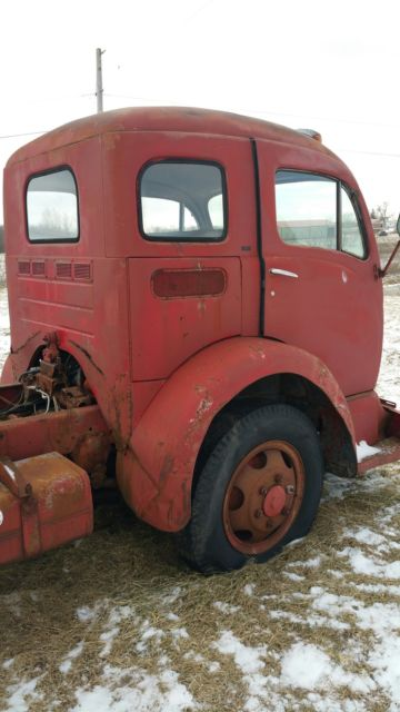 1956 white cabover semi truck  Classic Other Makes White 1956 for sale