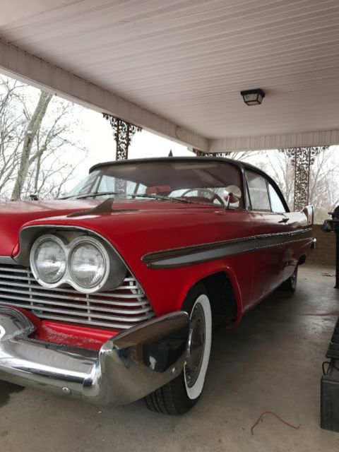 1957 plymouth fury 2 Door Hardtop christine  Classic Plymouth Fury 1957 for sale