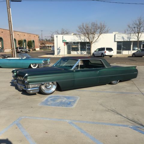 1964 63 62 61 60 59 CADILLAC COUPE DEVILLE BAGGED AIR RIDE