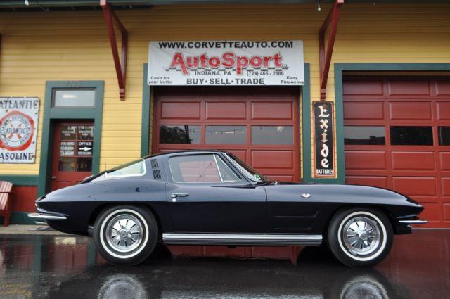 1964 Corvette Daytona BlueBlue AC Auto s Match Frame