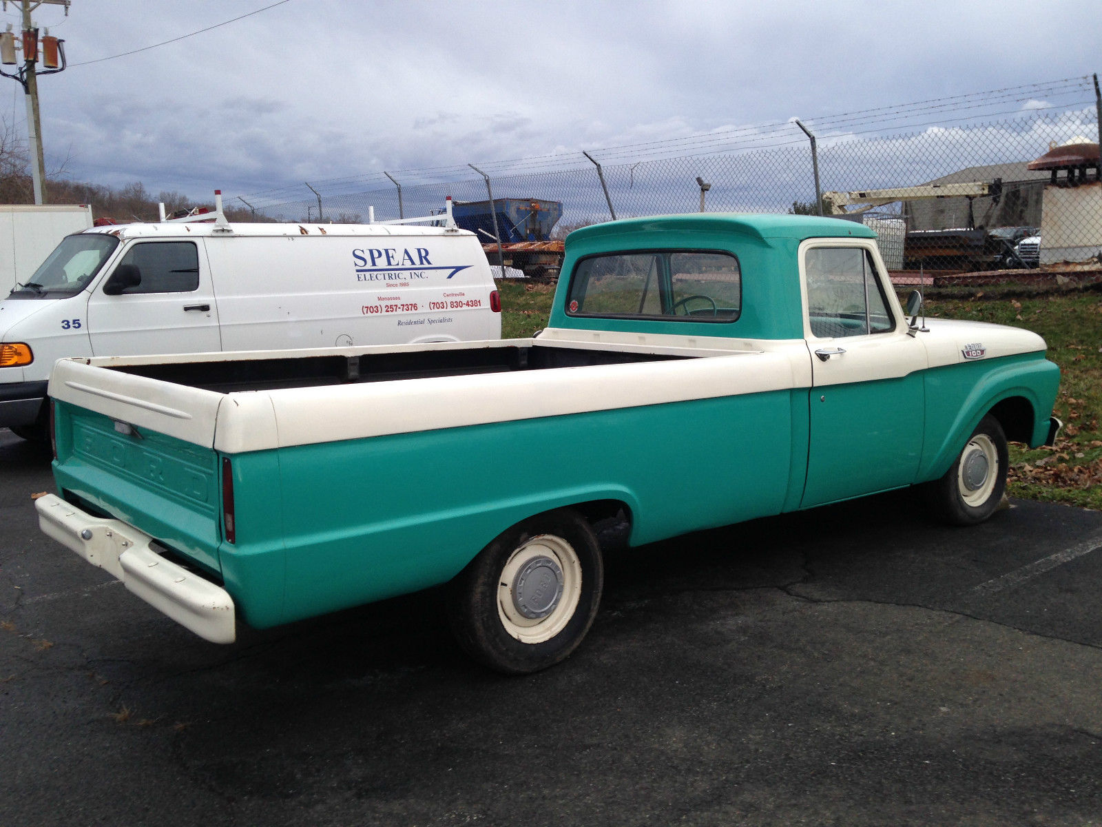 1955 Ford F100 Pickup Truck Long Bed Pick Up