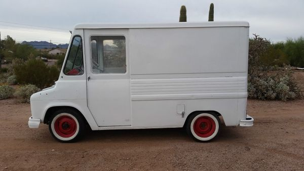 Chevrolet Step Van Ice Cream Truck - Year of Clean Water