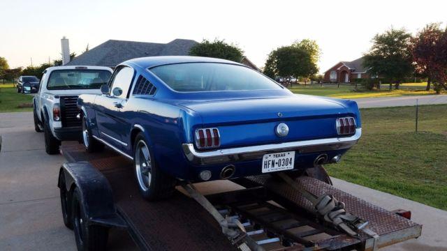 1966 Mustang Torque Thrust Wheels