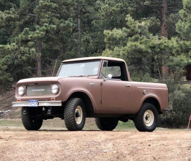 1966 International Harvester Scout 800