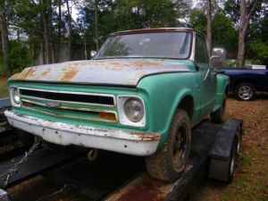 1967 Chevy Long Bed Step Side 4x4  Classic Chevrolet
